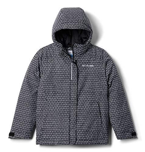 Columbia Girls' Toddler Horizon Ride Jacket, Black Sparklers Print, 3T