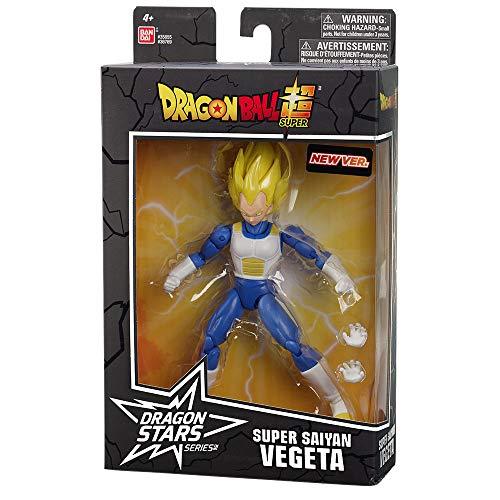 Dragon Ball Super - Figura Dragon Stars - Super Saiyan Vegeta V2