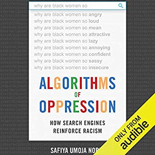 Page de couverture de Algorithms of Oppression