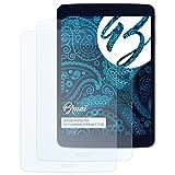 Bruni Schutzfolie kompatibel mit Pocketbook SURFpad 3 (7,85) Folie, glasklare Displayschutzfolie (2X)