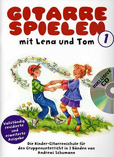 Gitaar spelen met Lena en Tom 1 - geregeld voor gitaar - met CD [Noten / Sheetmusic]