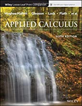 Applied Calculus, Sixth Edition Binder Ready Version