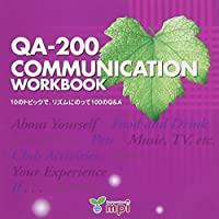 QA-200 Communication Workbook CD