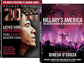 Dinesh D'Souza Collection + Digital Copy - 2016: Obama's America & Hillary's America - Double feat DVD