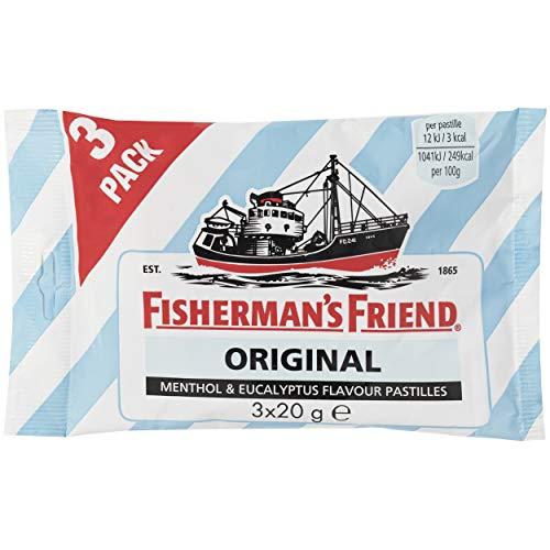 Fisherman'S Friend Original Caramelo Comprimido sin Azúcar 3 x 20g