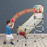 YQZ Juego de Arcade de aro de Baloncesto extraíble, Juego de Deportes de Interior, Adultos, niños, Ejercicio, Deporte, diversión, Juguetes educativos para niños