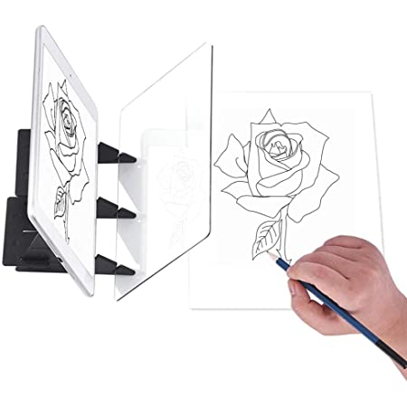 Optical Art Light Tracing Board Sketch Painting Drawing Projector Copy
