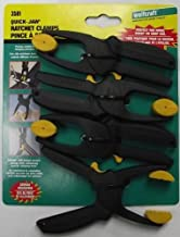 Wolfcraft Quick Jaw Micro Ratchet Clamps 4 Pack 3581 Swivel Head