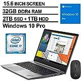 2020 Lenovo ThinkPad E590 15.6 Inch FHD 1080P Laptop| Intel Core i7-8565U up to 4.6GHz| 32GB RAM| 2TB SSD (Boot) + 1TB HDD| FP Reader | Win10 Pro| Silver + NexiGo Wireless Mouse Bundle