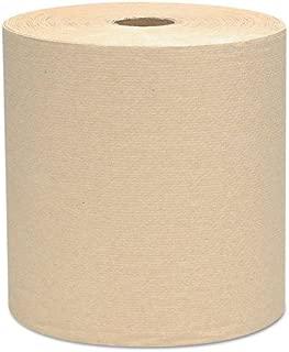 Scott 04142 Hard Roll Towels, 1.5-Inch Core, 8 x 800ft, Natural, 12 Rolls/Carton