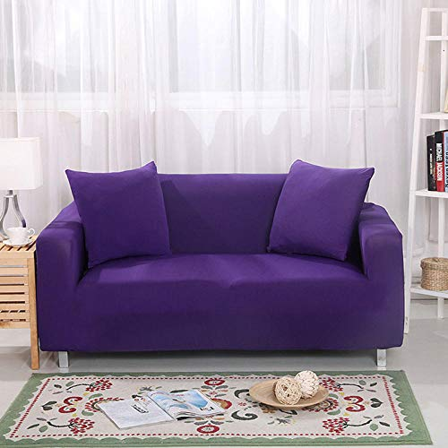 HXTSWGS Funda de sofá de Terciopelo,Funda de sofá de Sala de Estar 1 2 3 4 Funda de Asiento, Funda de protección de sofá de Tela elástica, Funda de Asiento de sofá-Color23_90-140cm