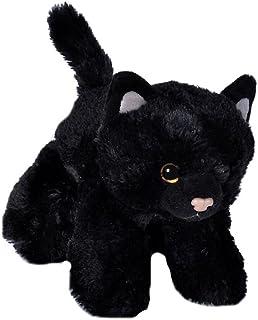 "Wild Republic 18089 Black Cat Plush, Stuffed Animal, Plush Toy, Gifts for Kids, Hug'ems, 7"""