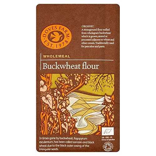 Doves Farm Organic Wholemeal Buckwheat Flour, 1kg
