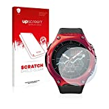upscreen Schutzfolie kompatibel mit Casio WSD-F10 – Kristallklar, Kratzschutz, Anti-Fingerprint