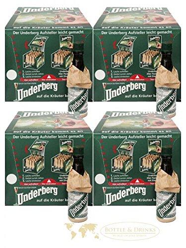 Underberg Vorratspackung 30 x 4 x 2cl Deutschland (120 Stück)