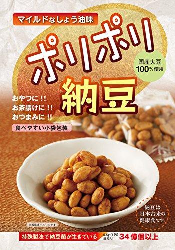 ポリポリ納豆 しょう油味(5.5g?30包)
