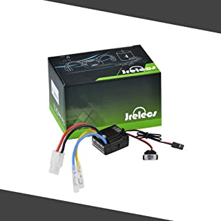 Jrelecs WP-1060-RTR 60A Waterproof Brushed ESC Electric Speed Controller with 5V/2A BEC for 1/10 RC Car