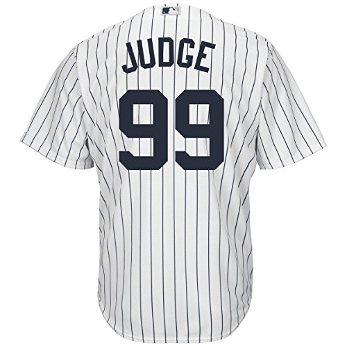 Outerstuff Aaron Judge New York Yankees #99 Youth Cool Base Home Jersey (Youth Medium 10/12)