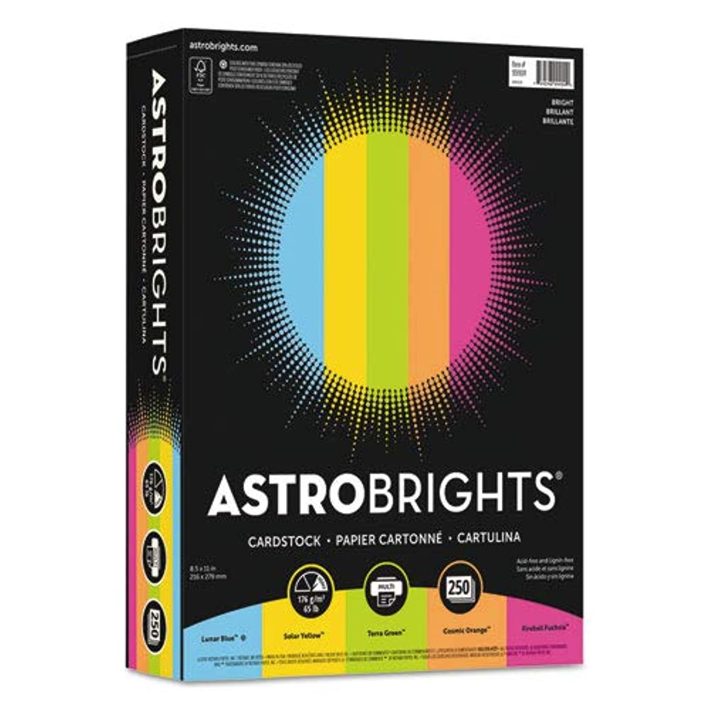 Astrobrights 99904 Color Cardstock -