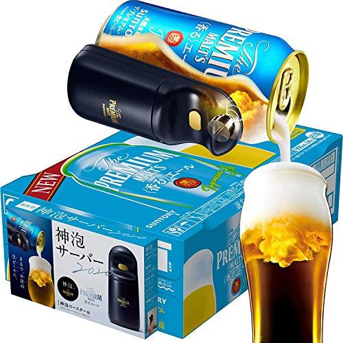 【お家でお店のような生ビールを】 ザ・プレミアム・モルツ 香るエール 新神泡サーバー2020&コースター付 [ 350ml×24本 ]