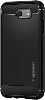 Spigen Rugged Armor Designed for Samsung Galaxy J3 Prime/Galaxy J3 Luna Pro/Galaxy J3 Emerge Case - Black