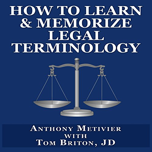 How to Learn & Memorize Legal Terminology cover art
