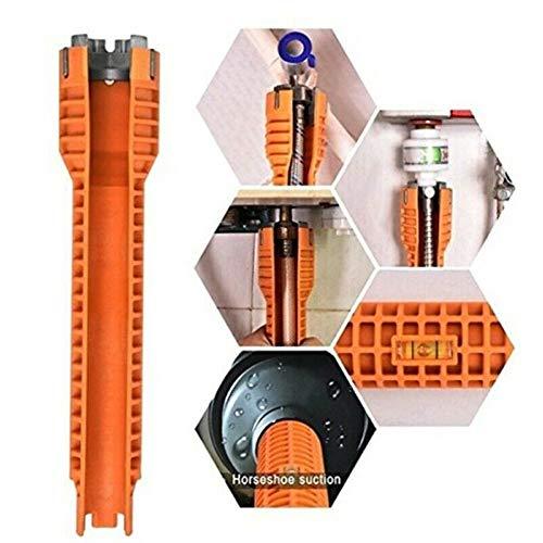 Fanville bekken moersleutel sanitair gereedschap kraan wastafel installateur waterpijp moersleutel gereedschap voor loodgieters huiseigenaren