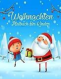 Weihnachten Malbuch für Kinder: weihnachtsbuch kinder 2 jahre | nikolaus geschenke kinder