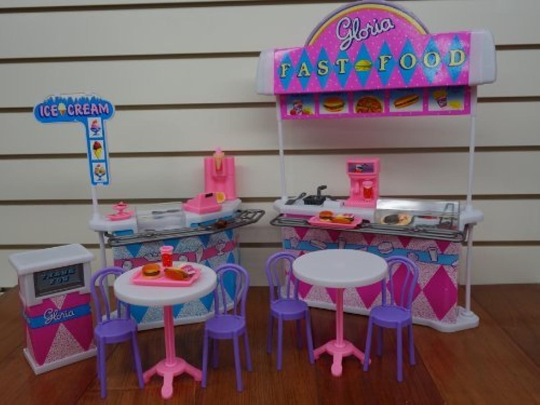 punto de venta barato Gloria Gloria Gloria Fast-food Jugar Set. by Ivory  a precios asequibles