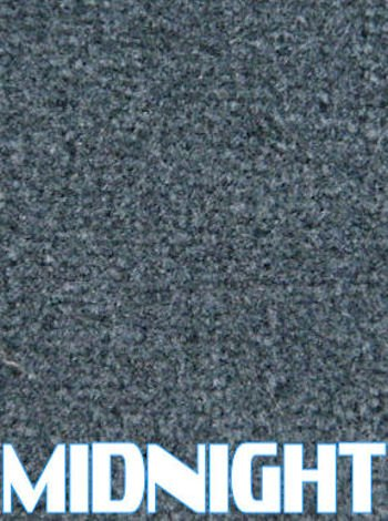 Marine Outdoor Bass/Pontoon Boat Carpet/16 oz (Midnight, 6'x20')