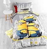 Bettbezug 140/200cm + Kissenbezug 60/70cm die Minions