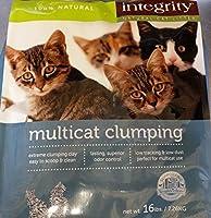 Integrity Natural Multicat Clumping Litter 16 Lb [並行輸入品]