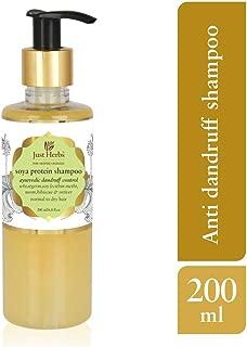 Just Herbs Dandruff Control Ayurvedic Soya Protein Shampoo (200 ml)