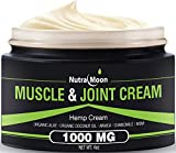 Hemp Pain Relief Cream Organic Hemp + MSM + Arnica + Coconut Oil Relieve Muscle, Joint & Arthritis Pain Hemp Cream for Pain 4oz
