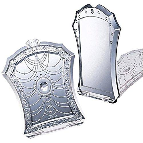 (ジル スチュアート) JILL STUART 鏡 ミラー スタンド 折りたたみ コンパクト 四角 スクエア 巾着 ポーチ 小物入れ セット SET 化粧 メイク コスメ