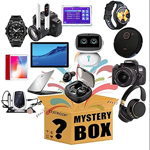 ZDSKSH Caja Misteriosa Artículo Misterioso (Caja De La Suerte) Últimos Teléfonos Móviles, Drones, Relojes Inteligentes, Purificadores De Aire, Etc, Todo Es Posible - Todos Los Artículos Inteligentes