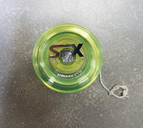 """YoyoJam Green SPIN FAKTOR X """"SFX"""" Yoyo"""