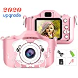 Sinceroduct Kids Camera,Petiparkit Digital Camera for Kids 2.0 Inches IPS Screen 20MP HD Kids Video Camera Children Toy Camera Recorder for Kids Gifts for 3-10 Year Old Boys Girls with 32GB SD Card