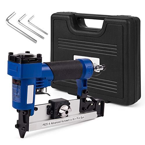 "P625 PT23G Pneumatic 23G Air Pin Nailer Gun 60-100psi Woodworking Tool Stapler Machine 1/4"" Air Stapler Length 10-25mm (pin tool)"