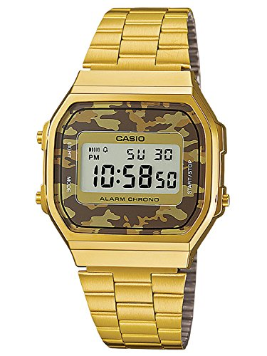 Casio Collection Unisex Retro Armbanduhr A168WEGC-5EF