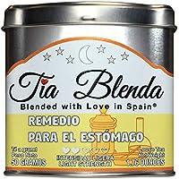 TIA BLENDA - REMEDIO PARA EL ESTÓMAGO (50 g) - Delicado Té verde Sencha de alta calidad con anís estrellado. Té en hojas. 40 - 50 tazas. Presentación premium en lata. Loose Tea Caddy.