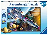 Ravensburger Space Mission 100 Piece Jigsaw Puzzle with Extra Large Pieces for Kids Age 6 Years & Up