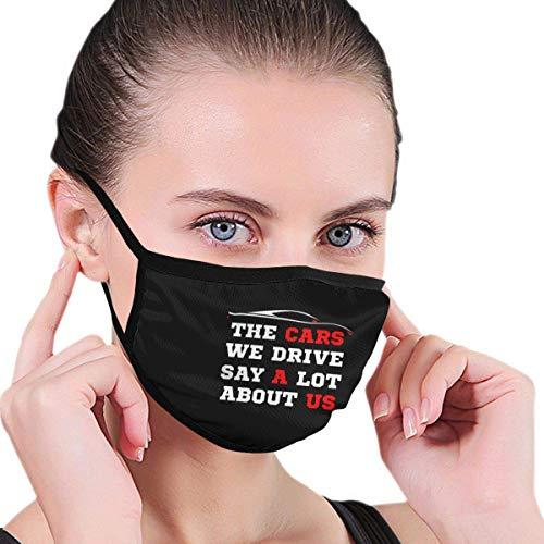Over auto's die we rijden, zeggen veel over ons uit uniseks print. Comfortabele wasbare herbruikbare oorbeschermingssjaal Running Ear Cover.
