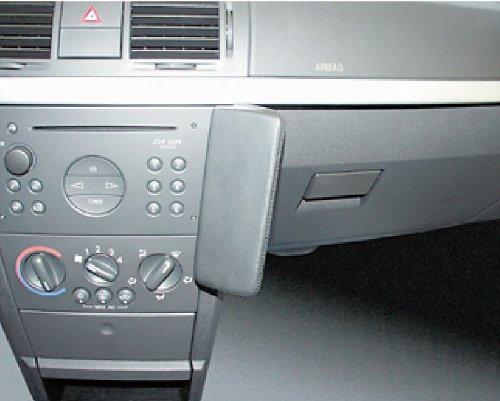 Waeco OPK215 Kunstleder Telefonkonsole schwarz für Opel Meriva ab Bj. 2003