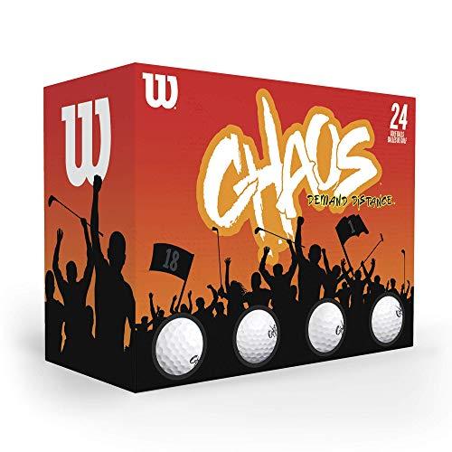 WILSON Chaos Golfbälle, 24 Stück
