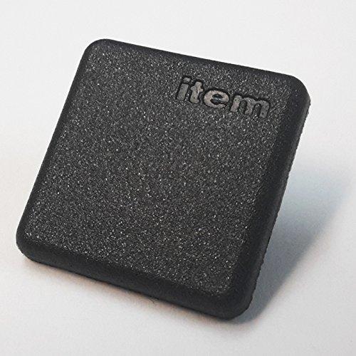Abdeckkappe für Item Aluminiumprofil 20x20, schwarz