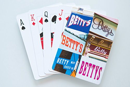 BETTY Personalized Playing Cards - featuring photos of actual signs