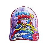 New Gorra Infantil con Visera SUPERZINGS, Nuevo diseño béisbol Rivals of Kaboom. Ideal para niños 4/10 años. Producto Oficial SUPERZINGS