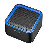 AVANTEK Noise Sound Machine for Sleeping, 20 Non-Looping High Fidelity Soothing Sounds with 30 Levels of Volume, 7 Timer Settings and Memory Function, Black