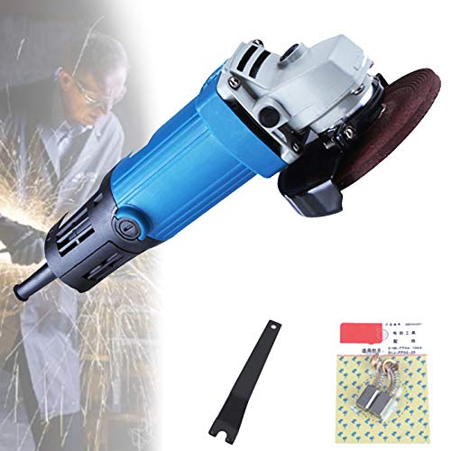 EFGS Amoladora Angular Inalámbrica,moladoras Electricas,Herramienta Eléctrica para Amoladoras Angulares De Corte, para Carpinteros, Constructores